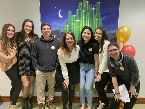 The Young Adult Network: The network aims to continue fostering Friendship Circle's mission among current and past members of the Pittsburgh delegation, establish continuity of alumni involvement and foster lasting investment in Friendship Circle.